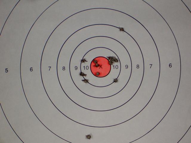 Tarus PT38s target